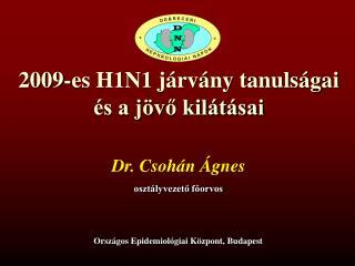 2009-es H1N1 járvány tanulságai és a jövő kilátásai