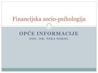 Financijska socio-psihologija