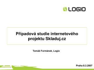 Případová studie internetového projektu Skladuj.cz