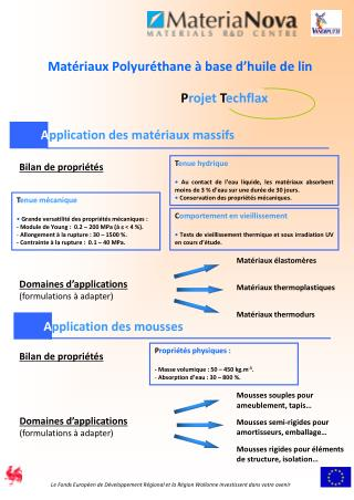Application des mat riaux massifs