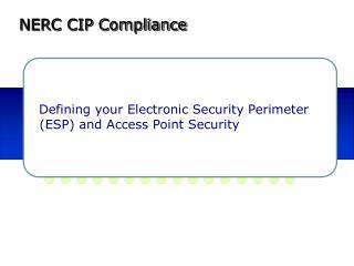 NERC CIP Compliance