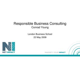 Responsible Business Consulting Conrad Young