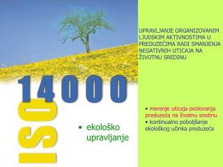 ekološko  upravljanje