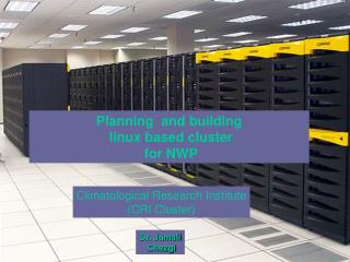 Planning  and building  linux based cluster  for NWP