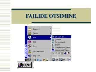 FAILIDE OTSIMINE
