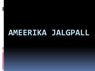 AMEERIKA JALGPALL