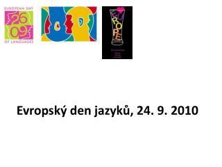 Evropský den jazyků, 24. 9. 2010