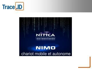 chariot mobile et autonome v�ritable concentr� de gestion compl�te d'entrep�t.