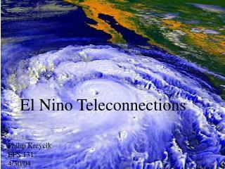 El Nino Teleconnections