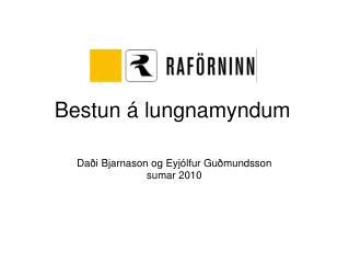 Bestun á lungnamyndum