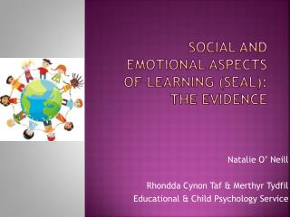 Social and emotional aspects of learning (SEAL): The evidence