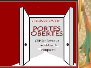 CEIP Son Ferrer: un model d'escola transparent