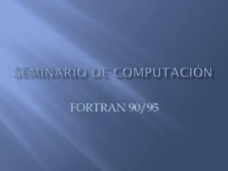 Seminario de Computación