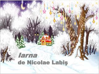 Iarna de Nicolae Labiş