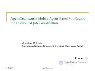 AgentTeamwork : Mobile-Agent-Based Middleware for Distributed Job Coordination