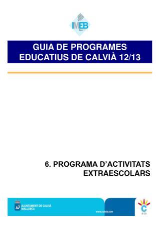OFERTA EDUCATIVA P�BLICA EN CALVI�