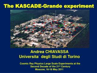 The KASCADE-Grande experiment