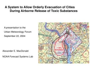 A System to Allow Orderly Evacuation of Cities