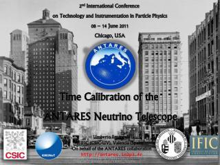 Time Calibration of the  ANTARES Neutrino Telescope