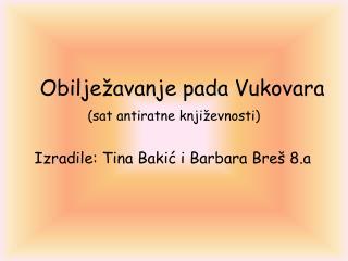 Obilježavanje pada Vukovara