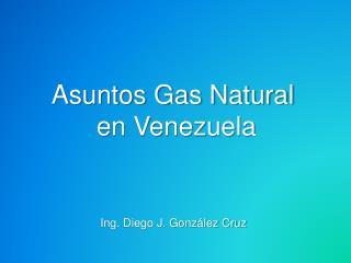 Asuntos Gas Natural  en  Venezuela