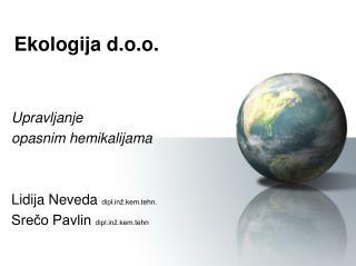 Ekologija d.o.o.