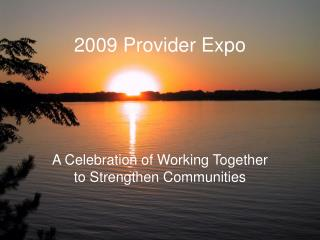 2009 Provider Expo