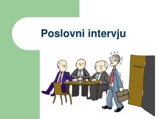Poslovni intervju