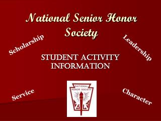 National Senior Honor Society