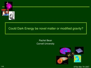 Could Dark Energy be novel matter or modified gravity?