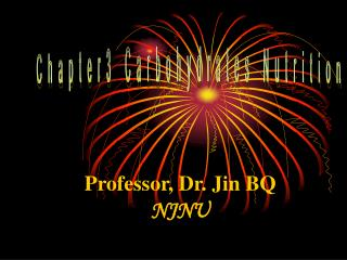 Professor, Dr. Jin BQ NJNU