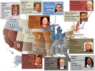 Region I: Boston CT, ME, MA, NH, RI, VT Kathryn Power, MEd JFK Federal Building Boston, MA 02203