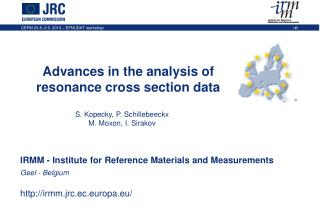 Advances in the analysis of resonance cross section data