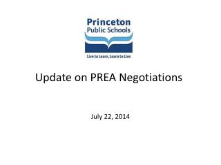 Update on PREA Negotiations