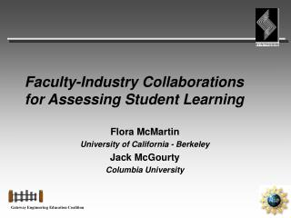 Faculty-Industry Collaborations for Assessing Student Learning