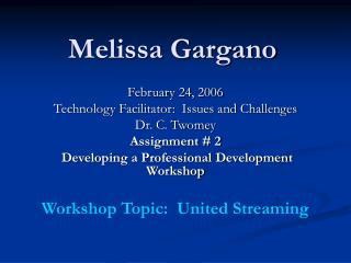 Melissa Gargano