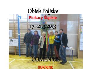 Obisk Poljske  Piekary Śląskie 17.-21.3.2013