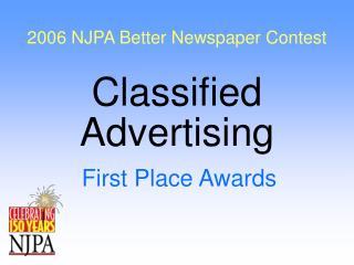 2006 NJPA Better Newspaper Contest