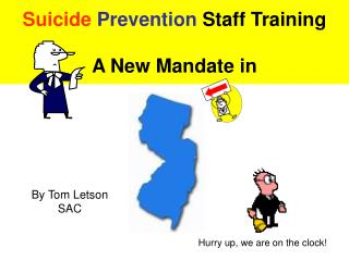 Suicide  Prevention  Staff Training A New Mandate in