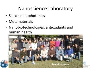 Nanoscience Laboratory