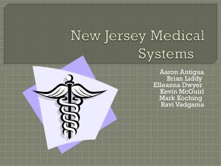 New Jersey Medical Systems