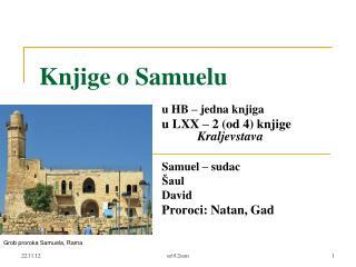 Knjige o Samuelu