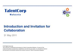 Introduction and Invitation for Collaboration