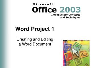 Word Project 1