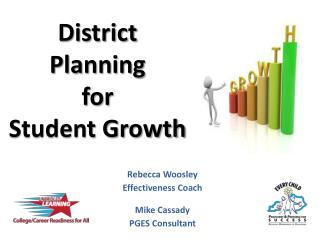 District Planning  for  Student Growth