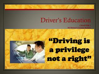 Driver�s Education