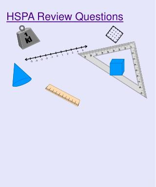 HSPA Review Questions
