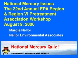 Margie Nellor Nellor Environmental Associates