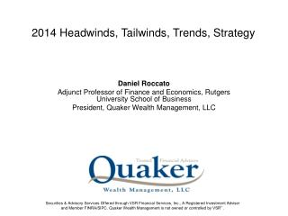 Daniel Roccato Adjunct Professor of Finance and Economics, Rutgers University School of Business