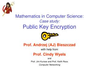 Mathematics in Computer Science: Case study: Public Key Encryption